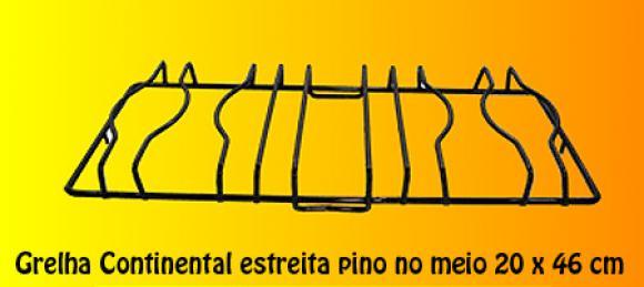 Grelha Continental estreita pino no meio 46 x 20,so fogoes,sofogoes,pe�as para fogo�o em geral,fog�es,conserto de fog�es,conserto de fog�es bh,fog�es industriais.fog�es a lenha