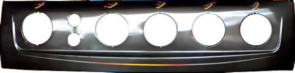 Painel Continental NG Caprice 2 furos 4 bocas marron,so fogoes,sofogoes,pe�as para fogo�o em geral,fog�es,conserto de fog�es,conserto de fog�es bh,fog�es industriais.fog�es a lenha