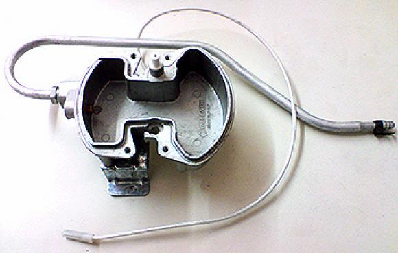 Camara misturadora do queimador Bosch com eletrodo,so fogoes,sofogoes,pe�as para fogo�o em geral,fog�es,conserto de fog�es,conserto de fog�es bh,fog�es industriais.fog�es a lenha
