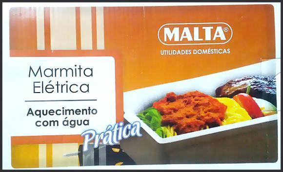 Marmita el�trica Malta 110v,marmiquente;aquecedor de marmita;marmita;marmiteria