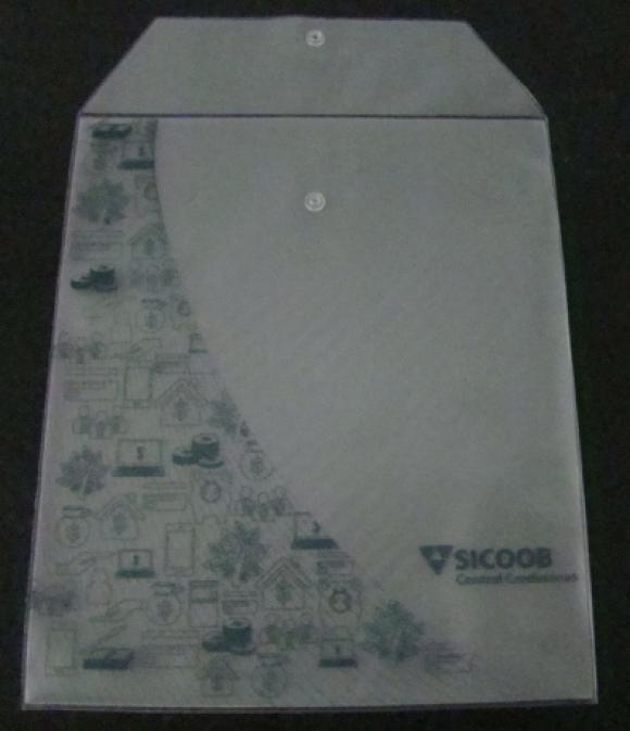 Envelope plástico, envelope, documento, protetor de documento