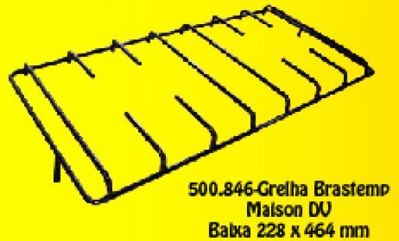 Grelha Brastemp Maison BAIXA Pino descentral. 228 x 464 mm,so fogoes,sofogoes,pe�as para fogo�o em geral,fog�es,conserto de fog�es,conserto de fog�es bh,fog�es industriais.fog�es a lenha