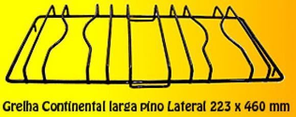 Grelha Continental LARGA Pino LATERAL 223 x 460,so fogoes,sofogoes,pe�as para fogo�o em geral,fog�es,conserto de fog�es,conserto de fog�es bh,fog�es industriais.fog�es a lenha