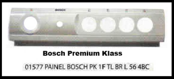 Painel Bosch Premium Klass 1 furo branco 4 bocas larg.56 cm,so fogoes,sofogoes,pe�as para fogo�o em geral,fog�es,conserto de fog�es,conserto de fog�es bh,fog�es industriais.fog�es a lenha