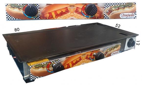 Chapa sanduicheira com gaveta 83x43,chapa Sanduicheira