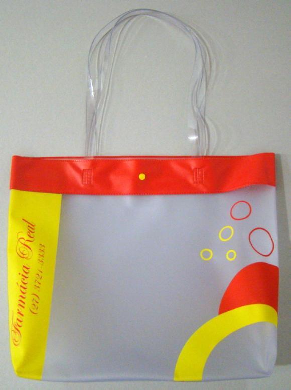 sacola pvc, sacola de plastica, bolsa pvc, bolsa de plastico, sacola propaganda, propaganda, sacola empresa, publicidade ,