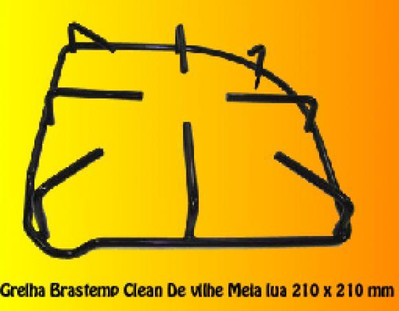 Grelha Brastemp Clean/ De Ville  21x21 cm meia lua,so fogoes,sofogoes,pe�as para fogo�o em geral,fog�es,conserto de fog�es,conserto de fog�es bh,fog�es industriais.fog�es a lenha