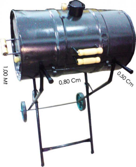 Churrasqueira Bafo tambor 80 litros,so fogoes,sofogoes,pe�as para fogo�o em geral,fog�es,conserto de fog�es,conserto de fog�es bh,fog�es industriais.fog�es a lenha