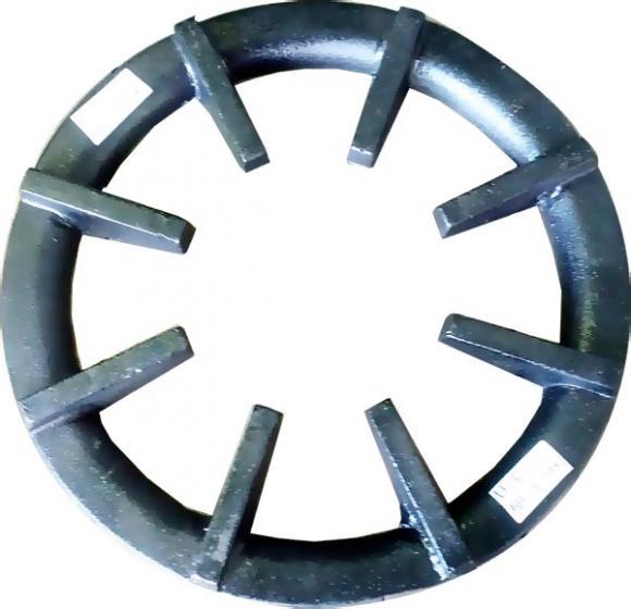 Grelha industrial redonda ferro fundido 26 cm,so fogoes,sofogoes,pe�as para fogo�o em geral,fog�es,conserto de fog�es,conserto de fog�es bh,fog�es industriais.fog�es a lenha