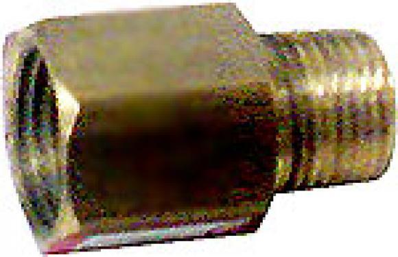 Bucha de redução 1/8 npt M x 7/16 npt F,conserto de fogões bh, so fogoes, sofogoes, peças para fogoão em geral,conserto de fogões,canalizações de gás, instalções de gás predial e resisêncial