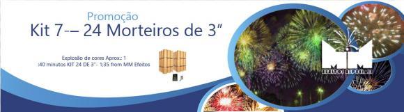 Kit 7 – 24 Morteiros de 3'' Explosão de cores,fogos indor, fogos para eventos, sparkles para casamentos, neve artificial, jet co2, bolinha de sabao, gerbs , cascata , fogos para reveillon, show pirotecnico, pirotecnia, MAQUINA NEVE, FROOZEN, FOGOS DE ARTIFICIOS, PIROMUSICAL, FOGUETE, FOGOS, ACIONADOR