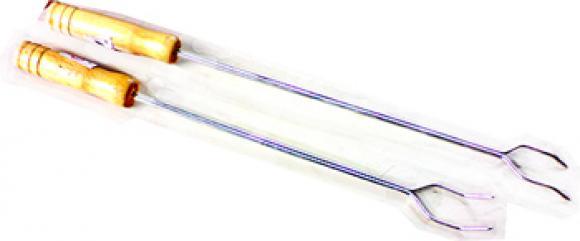Garfo para Churrasco cabo de madeira 55 cm,so fogoes,sofogoes,pe�as para fogo�o em geral,fog�es,conserto de fog�es,conserto de fog�es bh,fog�es industriais.fog�es a lenha