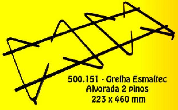 Grelha Esmaltec Alvorada 2 pinos 223 x 460 mm,Grelha para fog�o Esmaltec