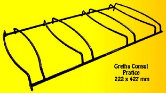 Grelha Consul Pratice 222 x 427 mm,so fogoes,sofogoes,pe�as para fogo�o em geral,fog�es,conserto de fog�es,conserto de fog�es bh,fog�es industriais.fog�es a lenha