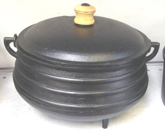 Panela trip� tradicional 4000ml n7 com tampa,panela de ferro