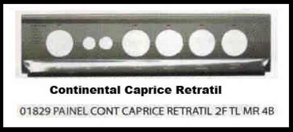 Painel Continental Caprice Retratil 2 furos 4 bocas marron,so fogoes,sofogoes,pe�as para fogo�o em geral,fog�es,conserto de fog�es,conserto de fog�es bh,fog�es industriais.fog�es a lenha