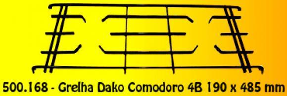 Grelha Dako Comodoro 4B 190x 485 mm,grelha Dako