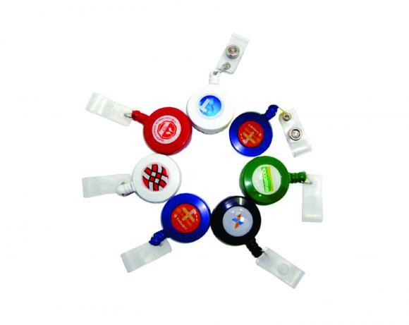 Roller clips personalizado, porta cartão roller clips, porta cracha roller clips personalizado, fazemos rollerclips personalizado. ,