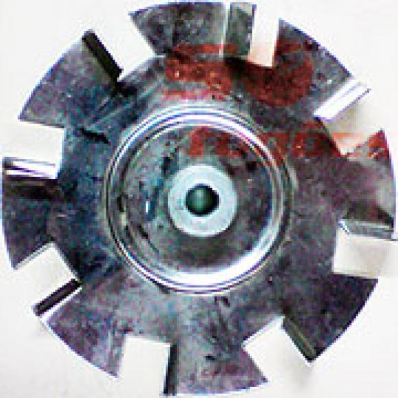 Hélice Ventuinha pequeno do motor Continental,peças fogões continental, ventuinha do motor