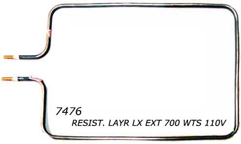 Resist�ncia forno Layr Luxo Ext 700 w 110v,Resist�ncia para forno;