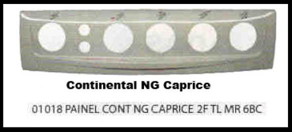 Painel Continental NG Caprice 2 furos 6 bocas Marron,so fogoes,sofogoes,pe�as para fogo�o em geral,fog�es,conserto de fog�es,conserto de fog�es bh,fog�es industriais.fog�es a lenha