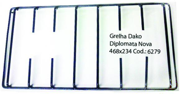 Grelha Dako Diplomata nova pino lateral 46 x 23 ,grelha Dako