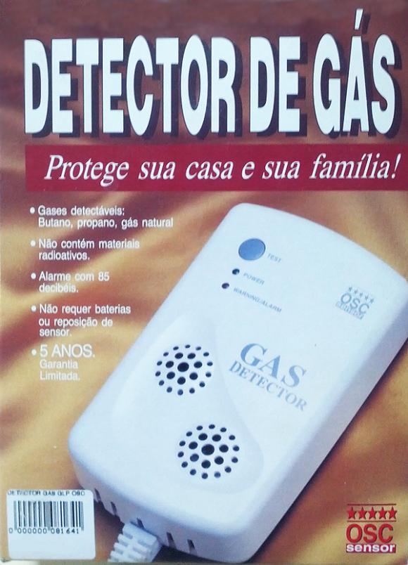 Alarme Sensor De Vazamento De Gás OSC,detector de gás