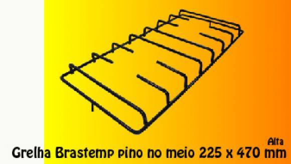 Grelha Brastemp Maison ALTA pino do MEIO 225 x 470 mm,Grelha para fog�o Brastemp