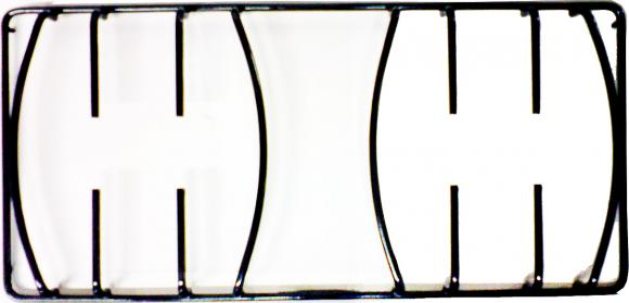 Grelha Bosch nova 22 x 46 cm pino lateral,Grelha para fogões Bosch