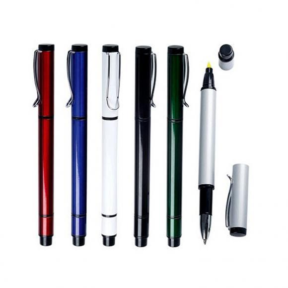 Caneta e marca texto de metal personalizado com gravação a laser, brindes bh, brindes personalizados bh, canetas personalizadas bh, squeezes personalizadas em bh, personalização squeezes bh, canecas personalizadas bh, copos personalizados em bh, squeeze metal personalizada bh, personalização de brindes em bh., LG BRINDES BH