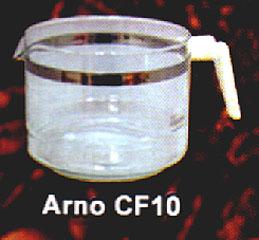 Jarra para Cafeteira Arno CF10,COPO DE CAFETEIRA