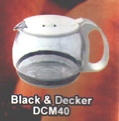 Jarra para Cafeteira Black & Decker DCM 40,Pe?as para fog?es Belo Horizonte MG