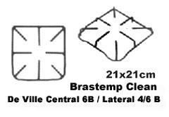 Grelha Brastemp Clean/ De Ville  21x21 cm,so fogoes,sofogoes,pe�as para fogo�o em geral,fog�es,conserto de fog�es,conserto de fog�es bh,fog�es industriais.fog�es a lenha