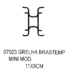 Grelha Brastemp Mini Moderna 11x8 cm,so fogoes,sofogoes,pe�as para fogo�o em geral,fog�es,conserto de fog�es,conserto de fog�es bh,fog�es industriais.fog�es a lenha
