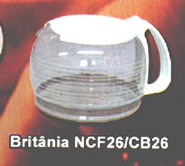 Jarra para Cafeteira Britanea NCF26/ CB26,Pe?as para fog?es Belo Horizonte MG