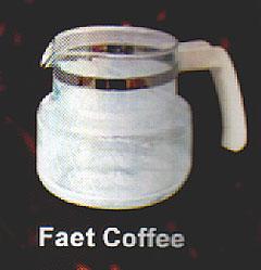 Jarra para Cafeteira FAET Cofee,Jarra para Cafeteira FAET