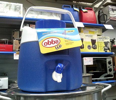 Garraf�o t�rmico 4 litros - Obba ice,Garrafas t�rmicas