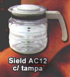 Jarra para Cafeteira Sield AC 12 c tampa,JARRA