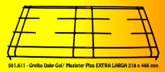 Grelha Dako Gol / Magister plus EXTRA Larga 218 x 466 mm,grelha Dako
