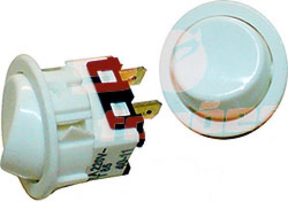 Interruptor Continental NG branco Igni��o,so fogoes,sofogoes,pe�as para fogo�o em geral,fog�es,conserto de fog�es,conserto de fog�es bh,fog�es industriais.fog�es a lenha