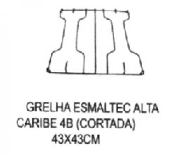 Grelha Esmaltec Caribe 4b inteiri�a,so fogoes,sofogoes,pe�as para fogo�o em geral,fog�es,conserto de fog�es,conserto de fog�es bh,fog�es industriais.fog�es a lenha