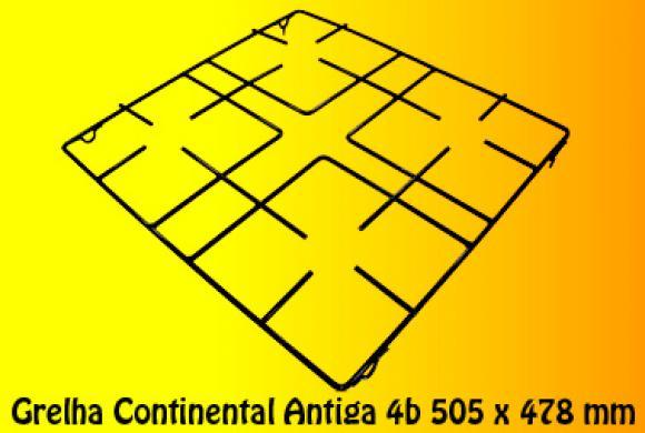 Grelha Continental Antiga 4b 505 x 478 mm,so fogoes,sofogoes,pe�as para fogo�o em geral,fog�es,conserto de fog�es,conserto de fog�es bh,fog�es industriais.fog�es a lenha