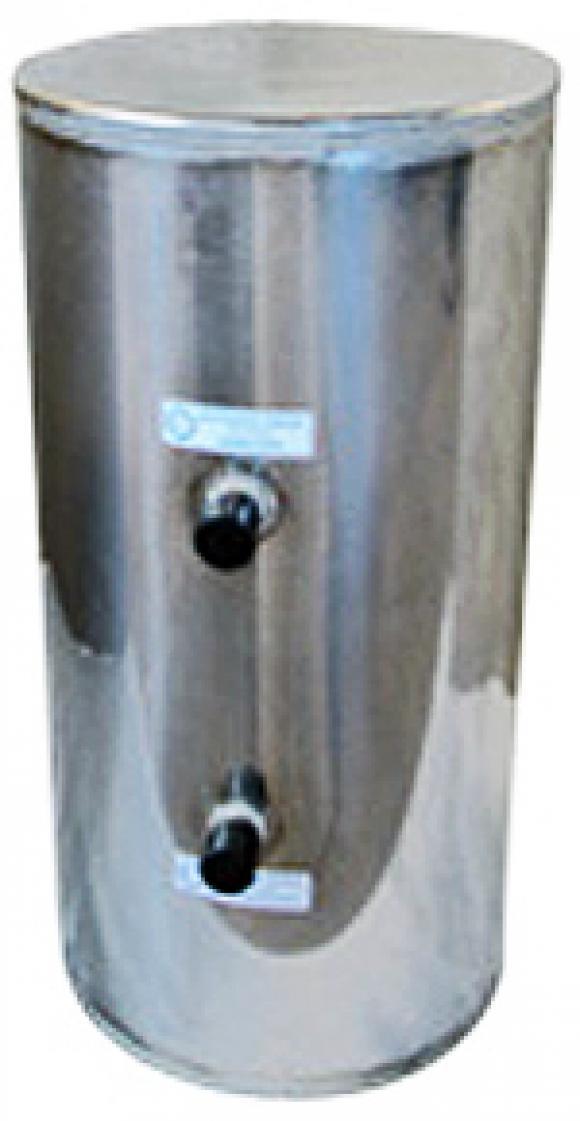 Cilindro inox 80x32cm 65 litros chapa 20,Cilindro para fogão a lenha inox