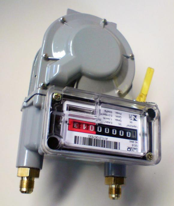 Medidor de Gás LAO G-0.6 REF GA3018,Medidor de gás LAO