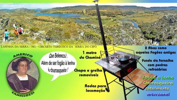 Fog�o � lenha / Churrasqueira Artesanal Grande,churrasqueira fog?o a lenha