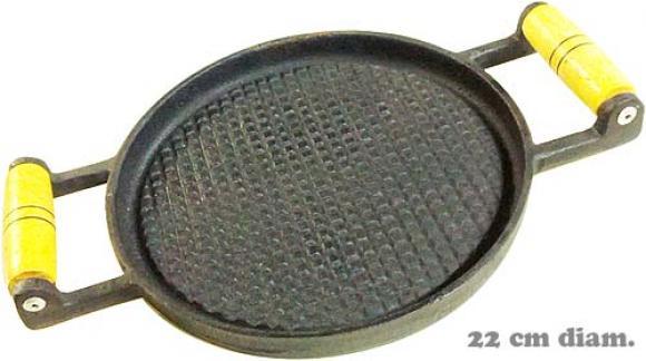 bifeteira redonda estriada com 2 al�as 22 cm,so fogoes,sofogoes,pe�as para fogo�o em geral,fog�es,conserto de fog�es,conserto de fog�es bh,fog�es industriais.fog�es a lenha