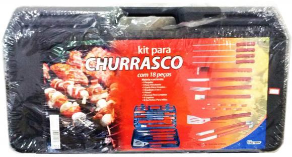 Kit para Churrasco 18 pe�as,so fogoes,sofogoes,pe�as para fogo�o em geral,fog�es,conserto de fog�es,conserto de fog�es bh,fog�es industriais.fog�es a lenha