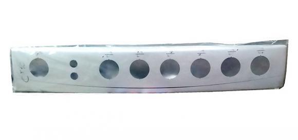 Painel Continental NG Meridien 2 furos 6 bocas branco,so fogoes,sofogoes,pe�as para fogo�o em geral,fog�es,conserto de fog�es,conserto de fog�es bh,fog�es industriais.fog�es a lenha