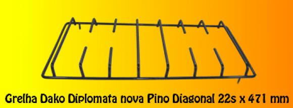 Grelha Dako Diplomata nova pino transversal 47 x 22,so fogoes,sofogoes,pe�as para fogo�o em geral,fog�es,conserto de fog�es,conserto de fog�es bh,fog�es industriais.fog�es a lenha