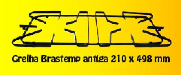 Grelha Brastemp Antiga 210 x 498 mm,so fogoes,sofogoes,pe�as para fogo�o em geral,fog�es,conserto de fog�es,conserto de fog�es bh,fog�es industriais.fog�es a lenha